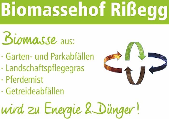 Biomassehof Rißegg Logo